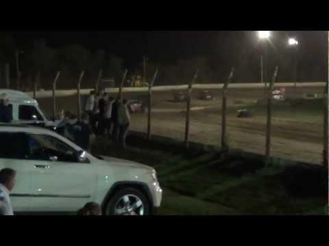 Thunderbird Speedway A mod heat 9/21/12