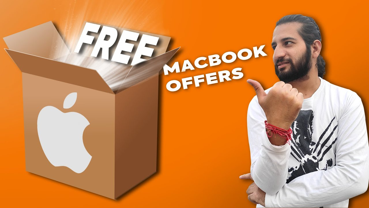 Apple Mega Giveaway worth ₹50K   MacBook Pro 2020 Offers