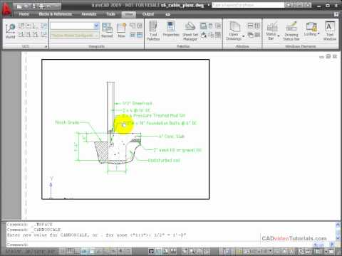 AutoCAD Tutorial - Creating a New Viewport