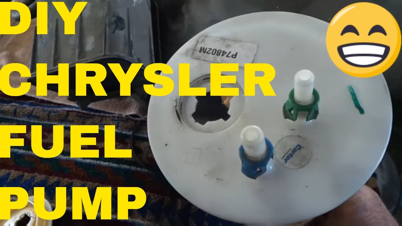 how to replace fuel pump/fuel filter on a chrysler sebring convertible -  youtube  youtube