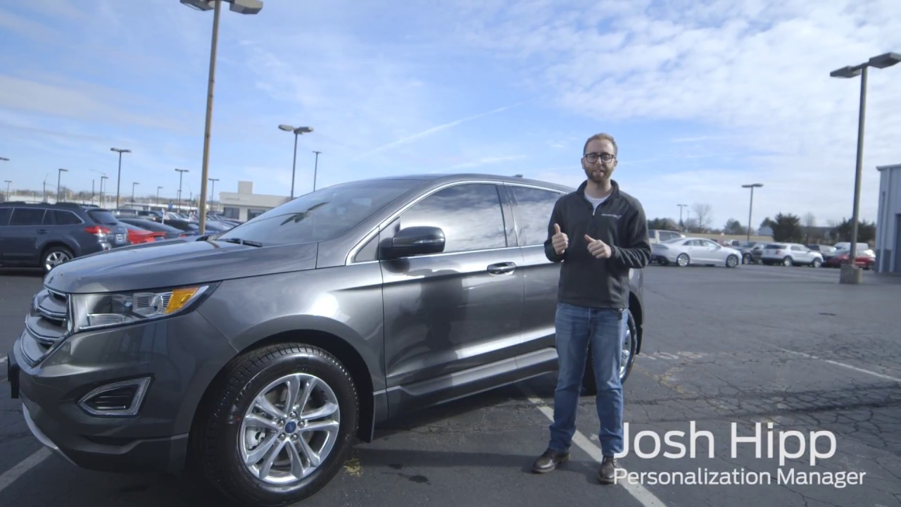 How to make this ford edge yours lebanon ford accessories
