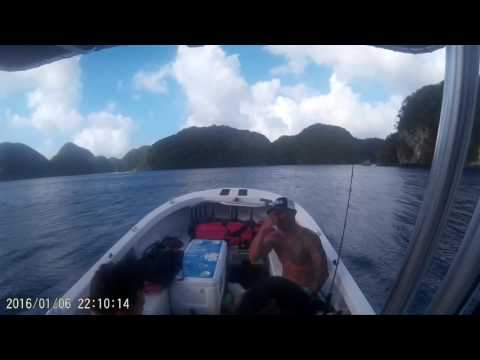 Hawaiian Spearos' Scouting Mission in Palau