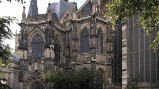 "Aachen Cathedral - The ""Imperial Cathedral""  - Aachen, Germany.UNESCO World Heritage Site"