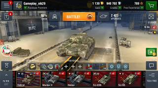 World of Tanks Blitz WOT gameplay playing with Dynamic Leopard EP171(05/29/2018)