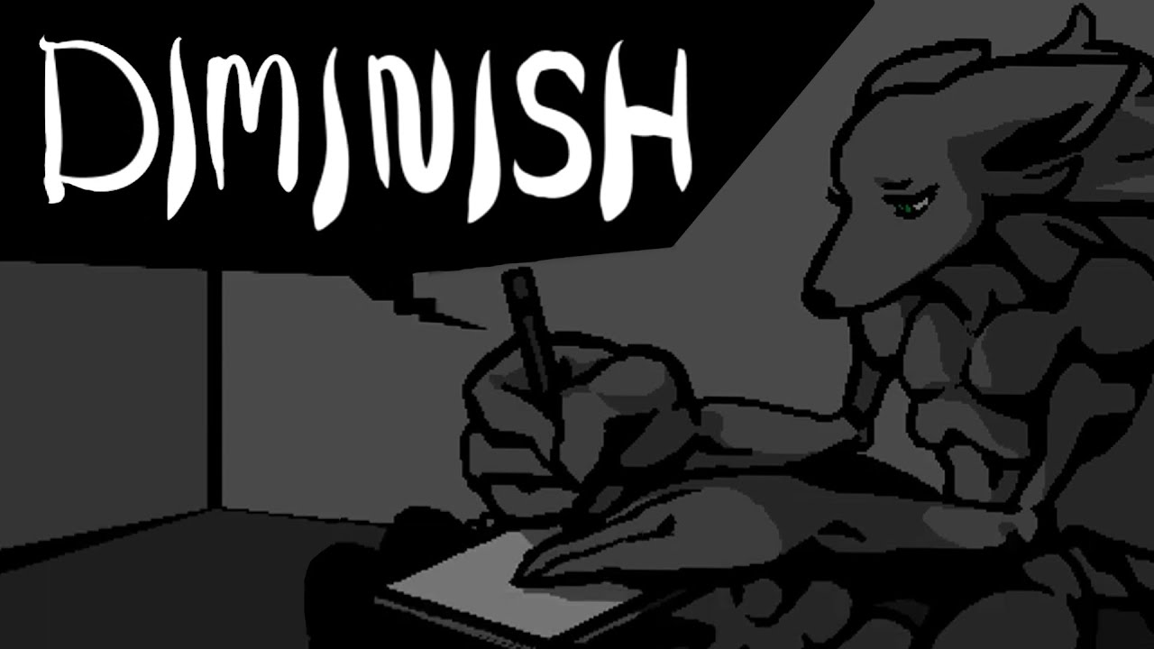 Diminish: A Grave Game for One Player
