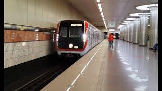 Поездка в новом поезде Москва