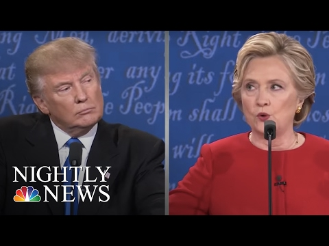 Memorable Moments Of The 2016 Presidential Campaign | NBC Nightly News
