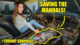 MANUAL SWAPPING MY DRAG BUILD! + MIMI GETS 2000HP FUEL SYSTEM!