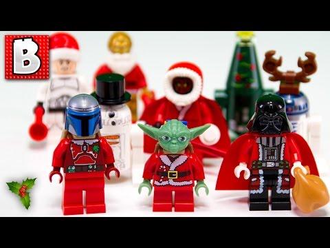 every lego star wars christmas minifigure
