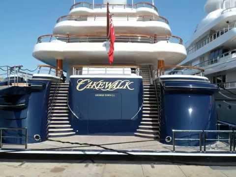 Worlds Fastest MEGA YACHT Antibes Yacht Show 2012