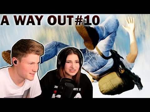 Der FALLSCHIRM war KAPUTT!? | A Way Out #10 | Kati & Dner