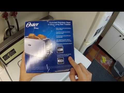 Oster Long-Slot Toaster Unboxing