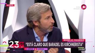 "Rogelio Frigerio: ""Está claro que Baradel es kirchnerista"""