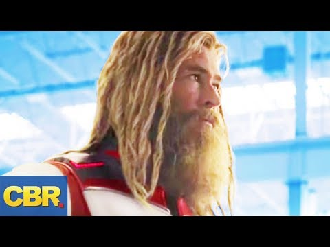 This Is What Really Happened To Thor During Avengers Endgame