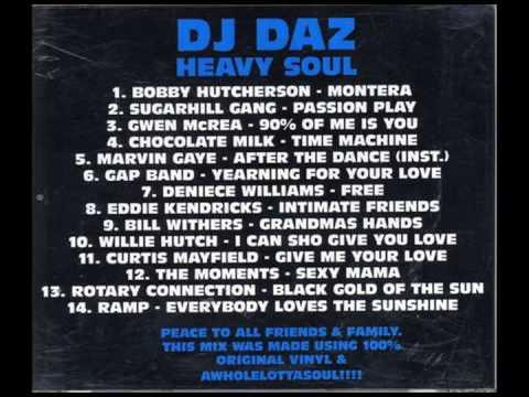 dj dAz presents: Heavy Soul Vol. I (a rare groove mixtape)