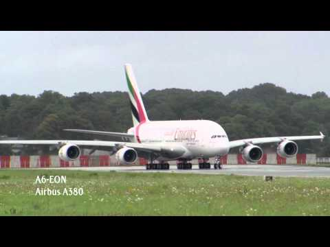 Emirates receives four wide-body aircraft in one day | Emirates Airline