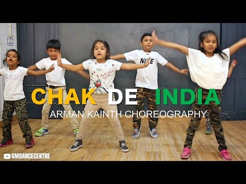 Happy Independence Day  Chak De India Dance  Toddlers  Arman Kainth Choreography