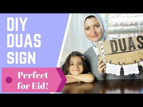 DIY Eid Gift Ramadan Decor!