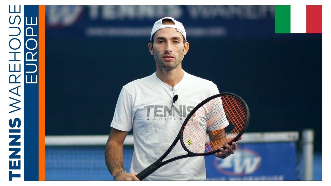 Recensione nella NUOVA racchetta da tennis Wilson Pro Staff 97 v13 🖤🎾