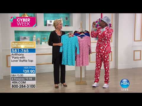HSN | Antthony Design Original Fashions 12.03.2017 - 05 PM