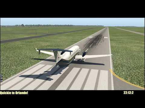 X-Plane 11 - Quickie to Orlando