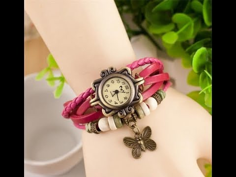 875cd6b2a6129 Latest Girls Top 20 Wrist Watches Trend 2018 - YouTube