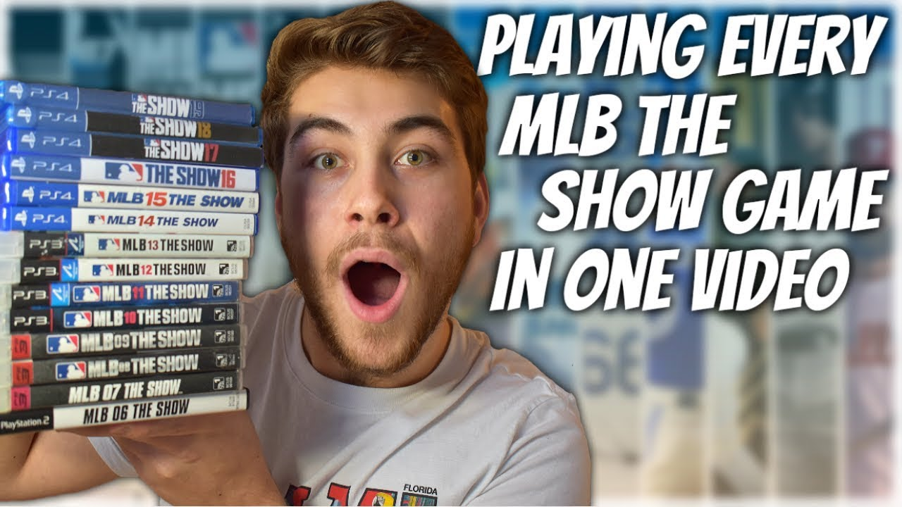 Playing Every MLB The Show Game Ever In One Video