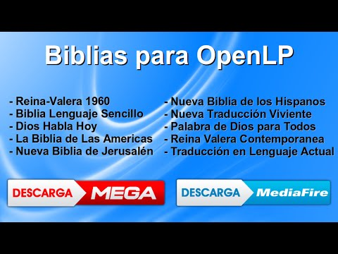 Biblias para openlp descargar youtube