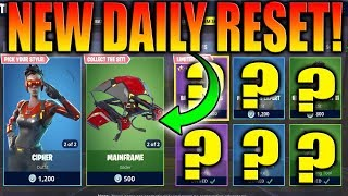 *NEW* CIRCUIT BREAKER & CIPHER Daily & Featured Skin Items In Fortnite Battle Royale! April 12, 2018