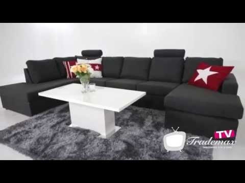 Crazy L-soffa 4-sits Vänster from YouTube · Duration:  37 seconds