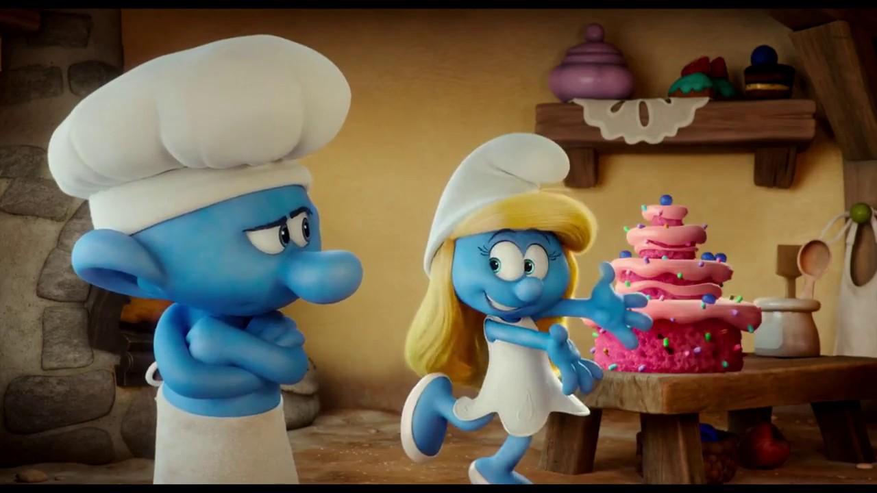 Smurfs The Lost Village Gordon Ramsay As Baker Smurf Youtube