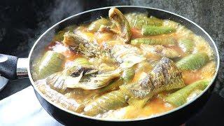 ilish Fish potato and brinjal recipe | ilish mach bangla recipe Tasty | Alu Begun Ilish Jhol Recipe