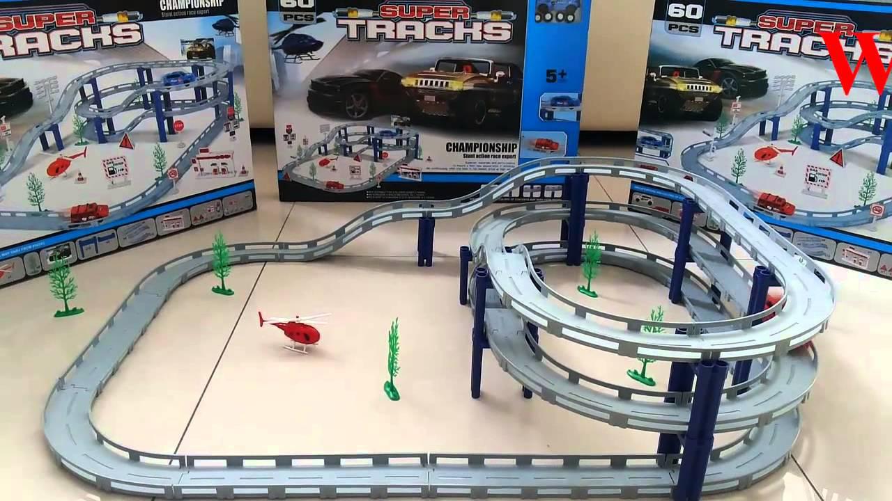 Mainan Track Mobil Balapan Terpopuler Super Tracks Toys For Boys Super Track
