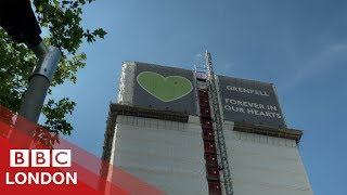 Community memorials to Grenfell - BBC London