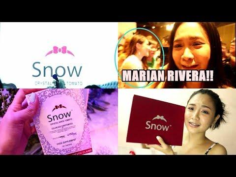 VLOG with MARIAN RIVERA! CHAR HAHA. SHOOKT AKO SA PUTI! #MarianRiveraxSnow #agelessbeauty