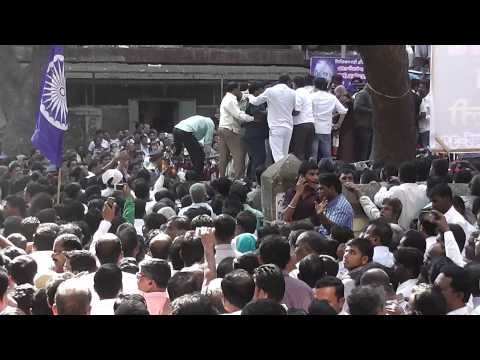 Namdeo Dhasal Funeral Procession Part 1