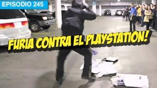 Se Enoja y Rompe el Playstation!
