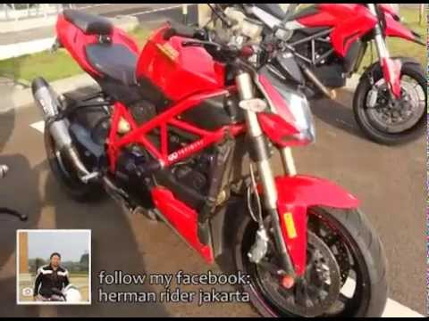 DUCATI STREETFIGHTER 848 SF Sound SC Project Exhaust - walk around