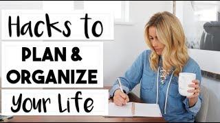 ORGANIZE: 6 Hacks to Plan and Organize Your Life | #LIFEGOALS