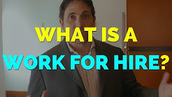 What is a Work for Hire? - Chase Lawyers