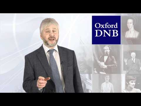 (2012) Oxford Dictionary of National Biography: An overview