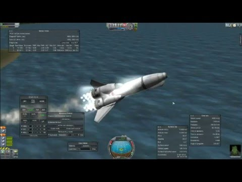 Kerbal Space Program - Viper SSTO - Build & Launch - YouTube