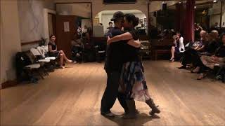 Tango Lesson: Consecutive Follower Forward Sacada