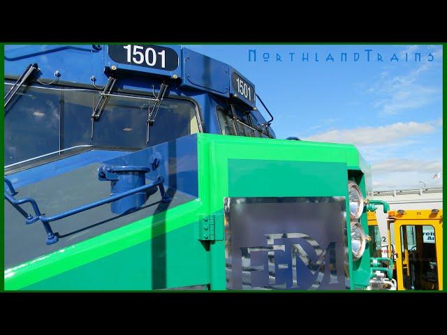 Touring EMDs Tier 4 SD70ACe-T4 Locomotive (Slideshow)