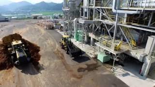 バイオマス火力発電所の仕組み