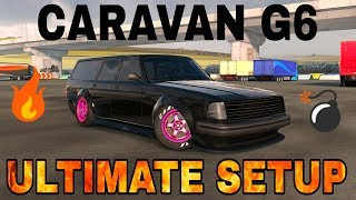 Caravan G6 Ultimate Setup + Test Drive! (Volvo 245 Wagon) | TOP CAR | CarX Drift Racing