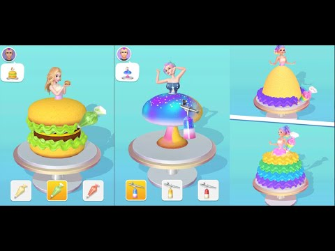 Icing On The Dress | Full Android Gameplay (All Levels) | By Lion Studios