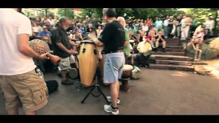 Asheville North Carolina Drum Circle Downtown Asheville NC
