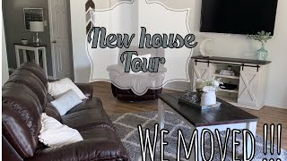 NEW HOME TOUR // WE MOVED// HOME TOUR 2019