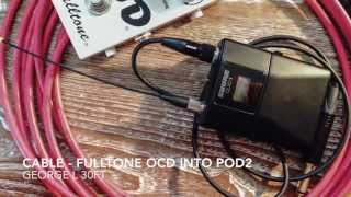 Shure QLXD - Guitar Cable vs. Wireless